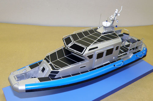 Scale model of patrol boat 440 Archangel